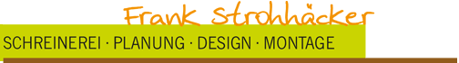Frank Strohhäcker Schreinerei - Logo